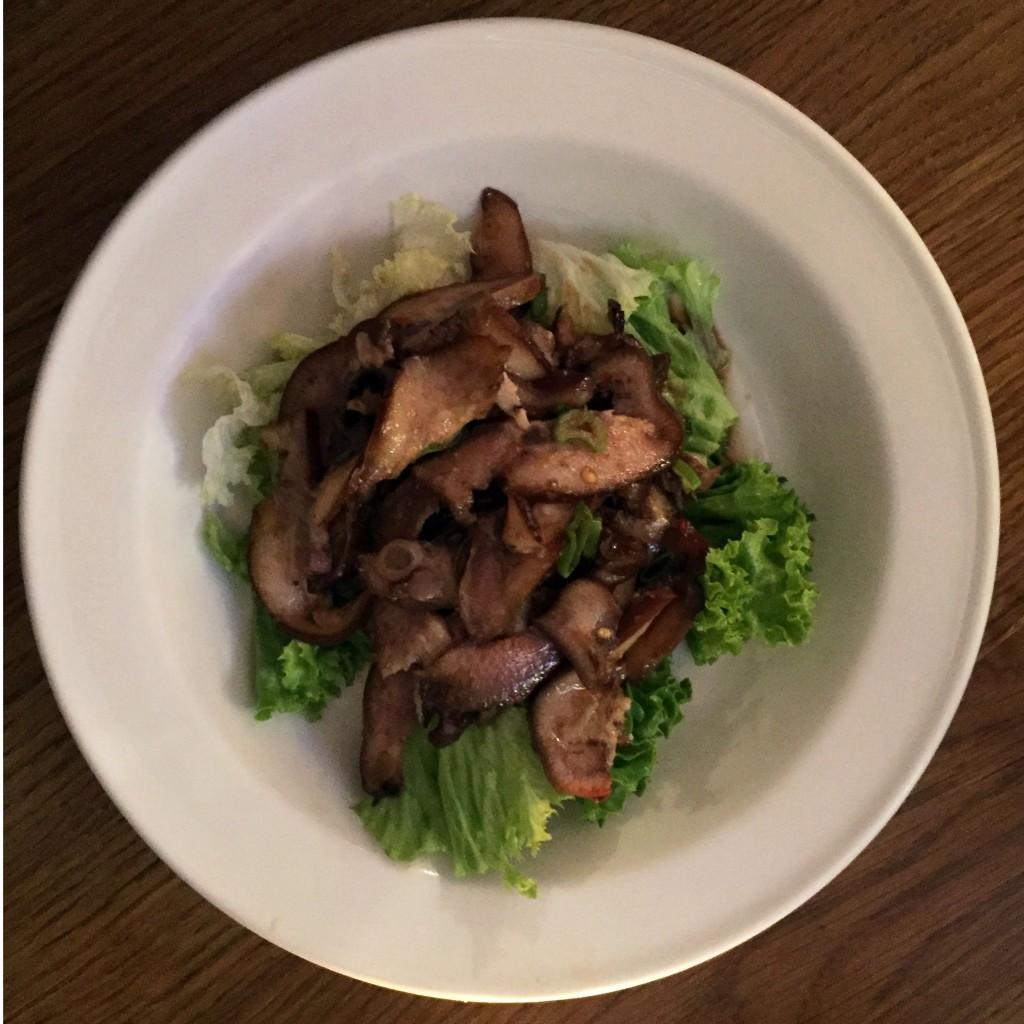 Pork Snout Salad Chinese Style. Schweinsrüsselsalat nach chinesischer Art.