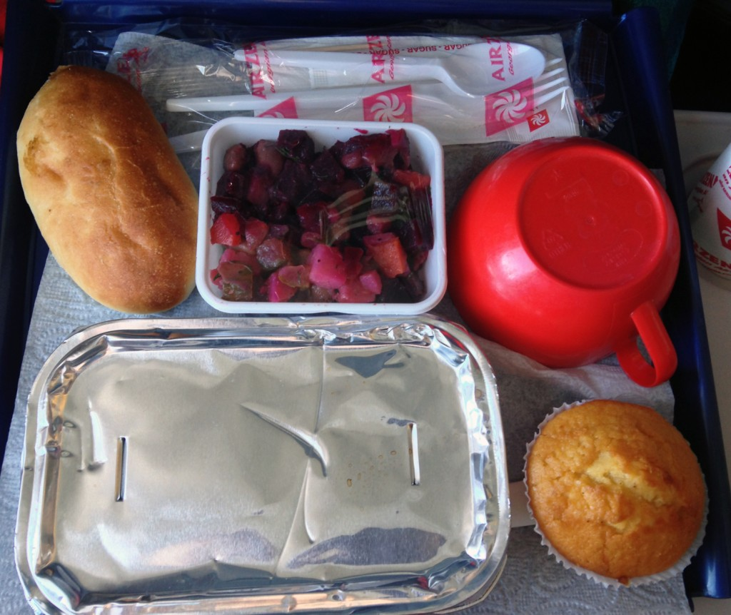 The Meat Project: Georgian Airlines Chicken. Georgian Airlines Hühnchen.