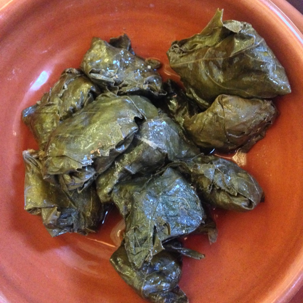 The Meat Project: Dolma - Stuffed Vine Leaves. Dolma - Gefüllte Weinblätter.