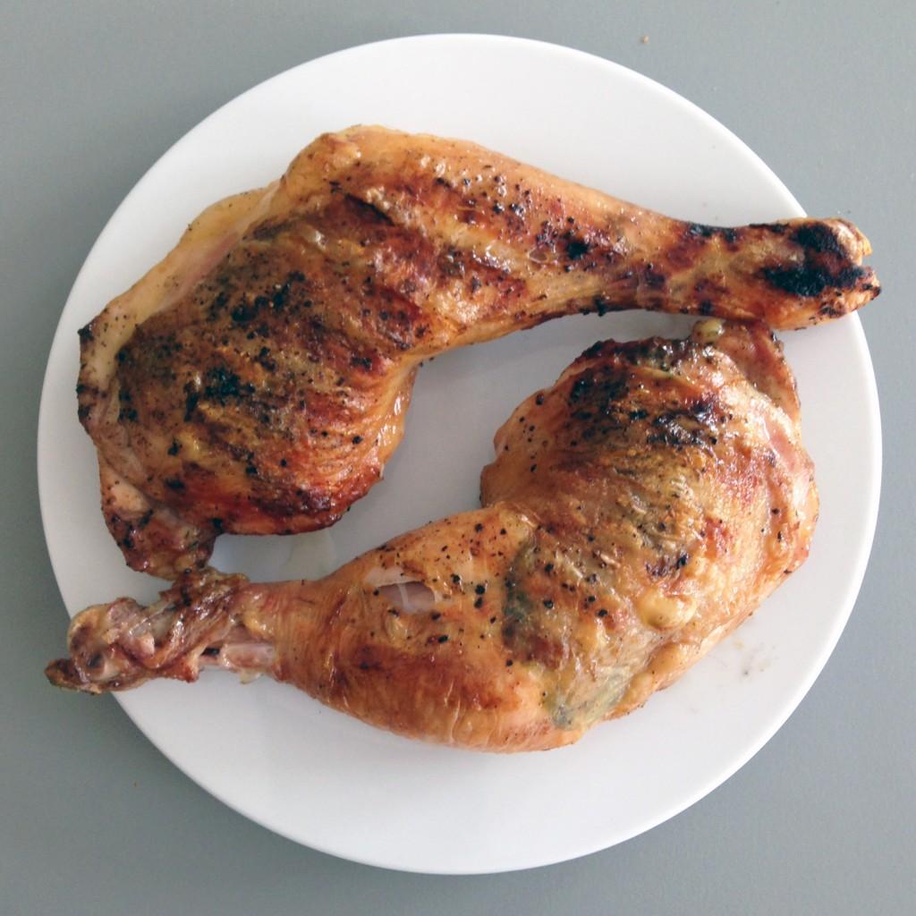 The Meat Project - BBQ Chicken Thighs - Gegrillte Hühnerkeulen - Huhn - Chicken 01