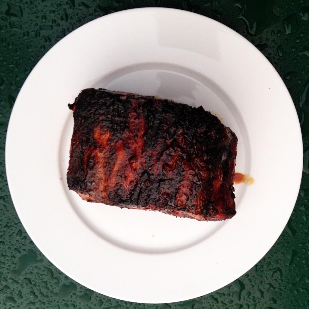 The Meat Project:  Schweinskarree vom Strohschwein - Gill BBQ - Organic Pork Loin