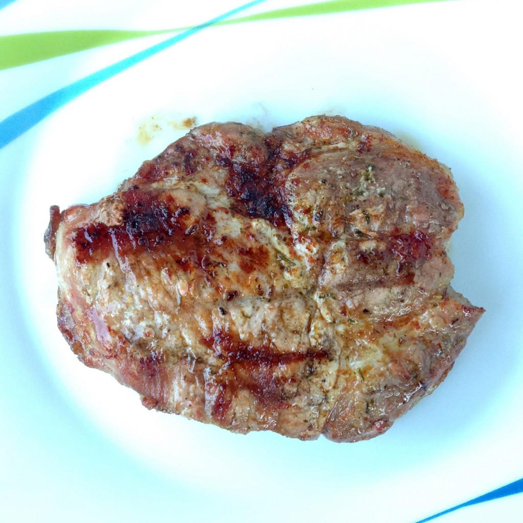 The Meat Project - BBQ - Grill - Neck of Pork - Schweinkottelet - Schweinsschopf - Schop - Pork - BBQ Pork Neck Steak. Gegrilltes Schweinskottelet vom Schopf.