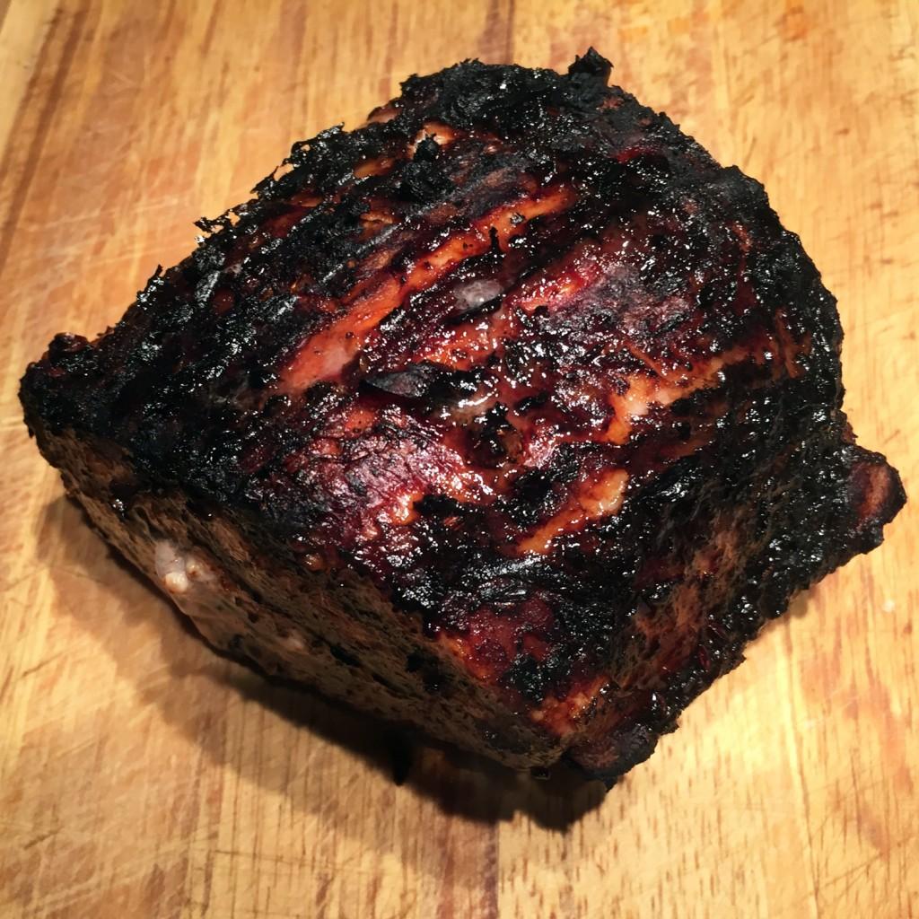 The Meat Project - BBQ Organic Straw-Pig Pork Loin. Gegrilltes Bio-Schweinskarree vom Strohschwein - Pork