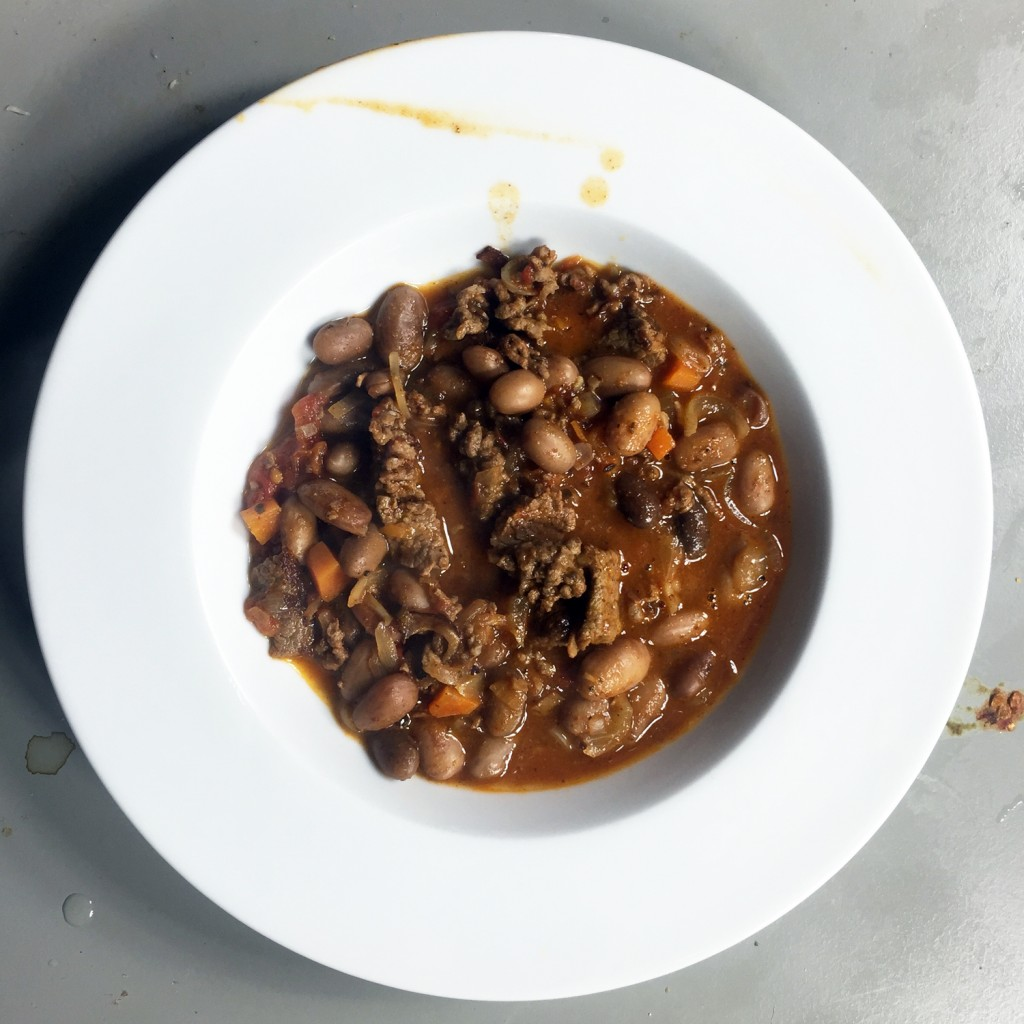 The Meat Project - Beef Chilli with Borlotti Beans - Chilli mit Rind und Bortolotti Bohnen