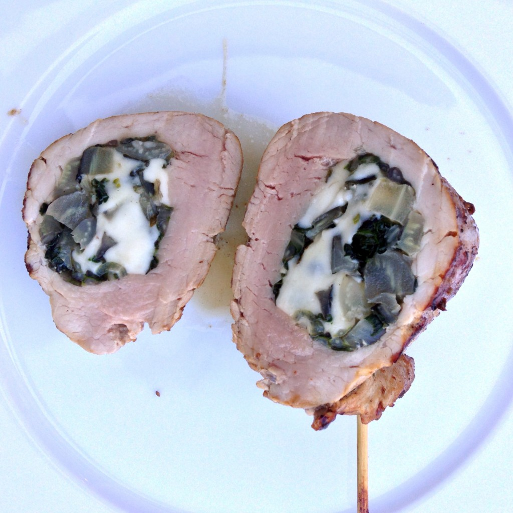 The Meat Project - Swiss Chard Filled Pork Filet. Schweinefilet gefüllt mit Mangold - Pork Schwein