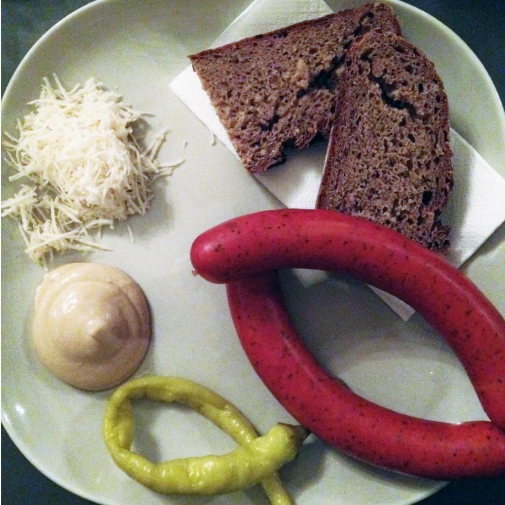 The Meat Project - sausage - Käsekrainer - Gasthaus Automat Welt Vienna Wien