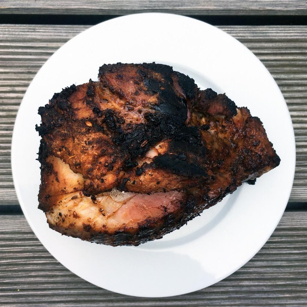 The Meat Project - pork shoulder - Schweinsschulter - BBQ Grill - Sabine Höllerbauer Meiselmarkt