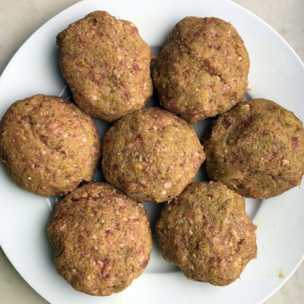 The Meat Project - beef - minced - Rind - Faschiertes - Ottolenghi - lemony leek meatballs - Fleischbällchen - Meiselmarkt