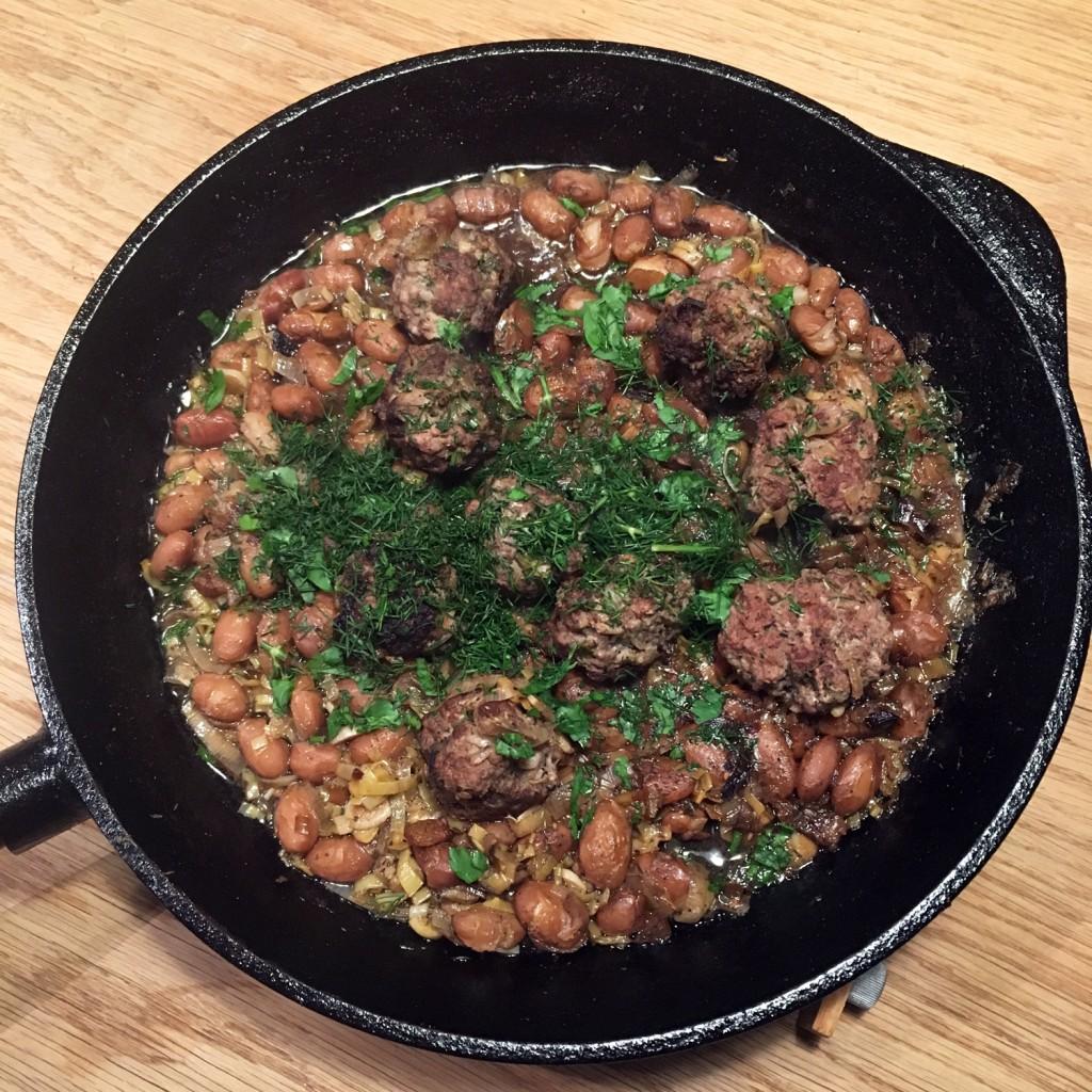 The Meat Project - Beef - Rind - Beef Meatballs with Borlotti Beans & Lemon. Fleischbällchen vom Rind mit Borlotti-Bohnen & Zitrone - Jerusalem