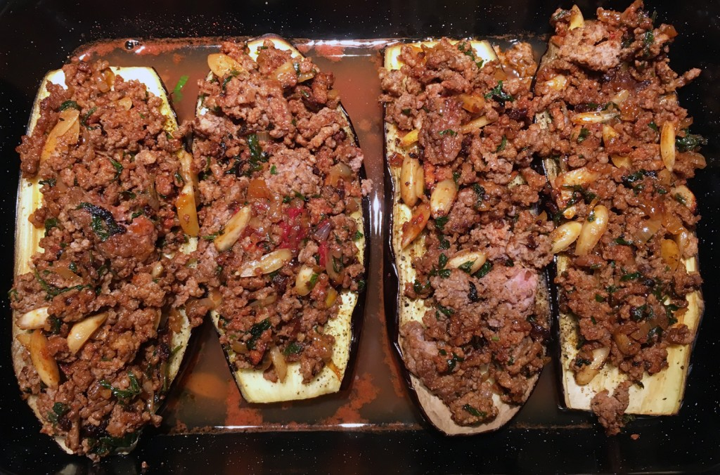 The Meat Project - Beef - Rind - Stuffed Aubergine - Jerusalem
