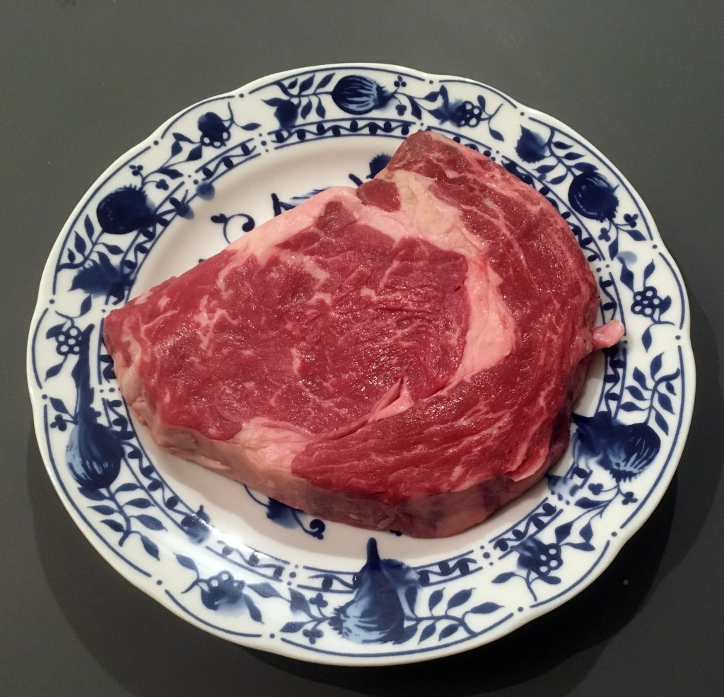 The Meat Project: BBQ Ribeye Steak / Gegrilltes Ribeye Steak - Beef Rind